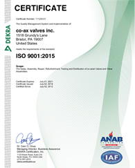 ISO 9001:2015 Recertification